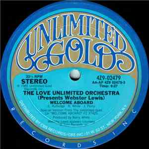 The Love Unlimited Orchestra Presents Webster Lewis - Welcome Aboard / Strange mp3 download
