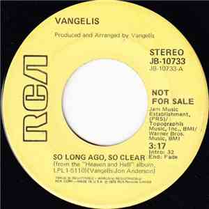 Vangelis - So Long Ago, So Clear / Heaven And Hell Theme mp3 download