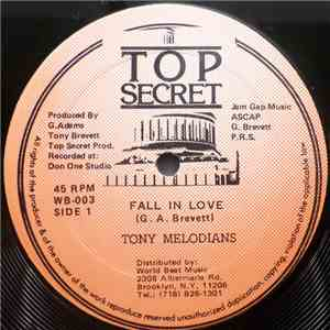 Tony Melodians - Fall In Love mp3 download
