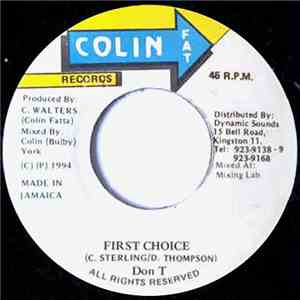 Don T - First Choice download mp3