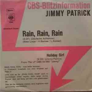 Jimmy Patrick - Rain, Rain, Rain (Deutsche Aufnahme) mp3 download