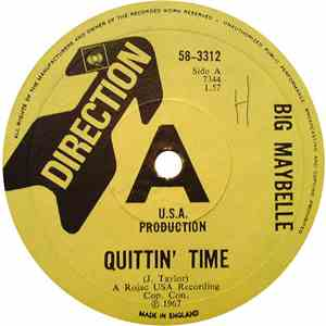 Big Maybelle - Quittin' Time / I Can't Wait Any Longer mp3 download