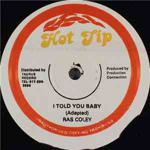 Ras Coley & Lady Lee - I Told You Baby / Over Again mp3 download
