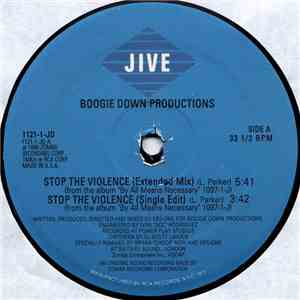 Boogie Down Productions - Stop The Violence mp3 download