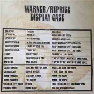 Various - The Warner / Reprise Display Case mp3 download